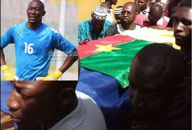 Burkinabé goalkeeper Soulama Abdoulaye buried today