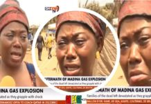 Video: 'I am still looking for my husband at Madina atomic Junction'- Woman Cries