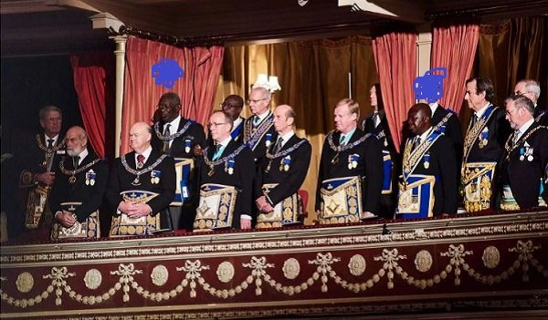 Asantehene And Ex-President Kuffuor Attended A Grand Freemasons Meeting
