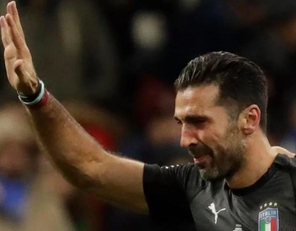 Buffon Quits As Italy Miss Out On World Cup