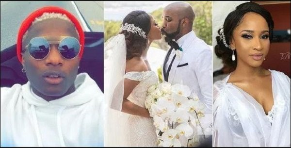 Fans Descend On Wizkid For Not Attending Any Of Banky W's Wedding