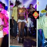 Huh!: Ghanaian Singer, Feli Nunu Strips Naked For Male Fans [Photos]