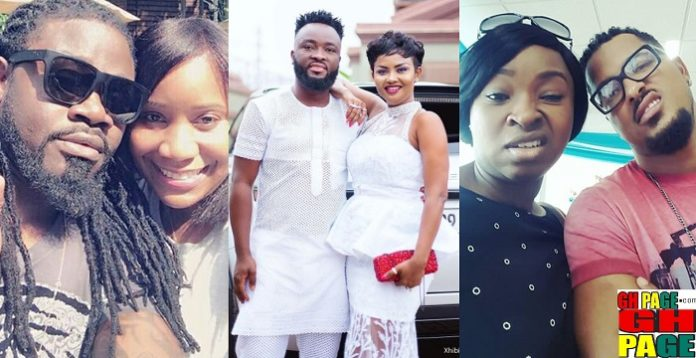 Ghanaian male celebrities who married older women