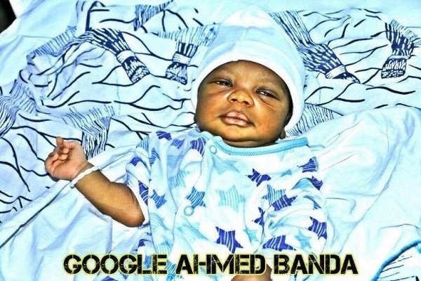 Huh! Kumawood Movie Producer Name His Newly Born Son Google [Photos]