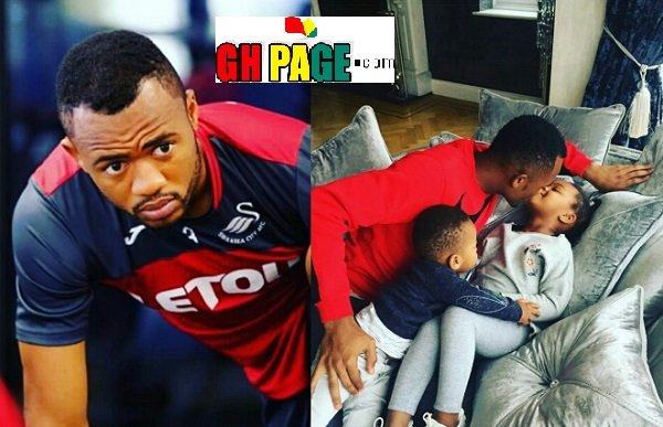 See Photo of Jordan Ayew And His Adorable Children