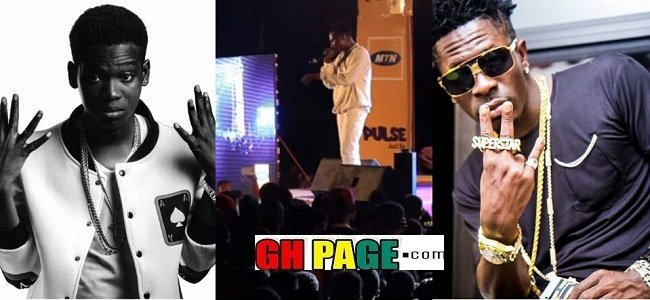 Koo Ntakra Disses Shatta Wale On Stage