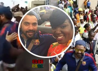 Video: The crowd that mobbed the Kumkum stars at the airport proves how popular and the influence the soap opera is having on a section of Ghanaians