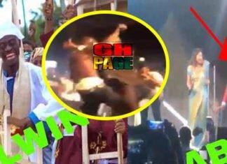 Video: This Is Hilarious - Kumkum Bhagya stars dance One Corner with Lilwin performance at the stadium