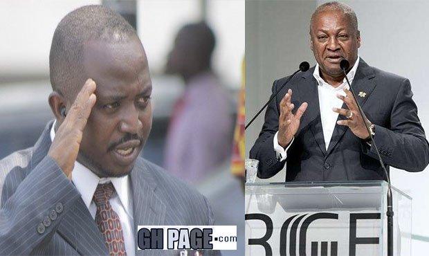 Mahama mocks Stephen Atubiga as he names him as his favorite Presidential candidate