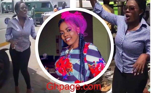 Nana Aba Anamoah Turns Driver's Mate