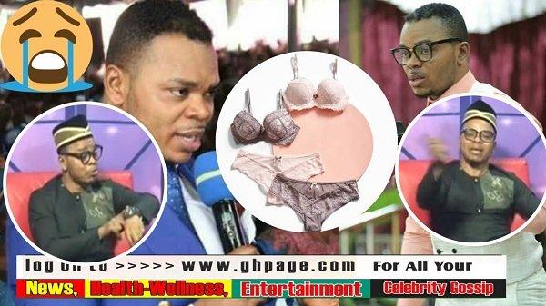 Bishop Daniel Obinim Blasts Critics On His Bra, Panties Spiritual Direction—Calls them fools (Video)