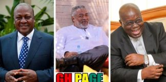 Hilarious!!: Here Are The Funny Nicknames Of All Ghanaian Presidents [Photos]