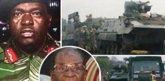 Zimbabwe Crisis: Robert Mugabe REMOVED From Power As Army Take Control Of Harare (Photos+Video)
