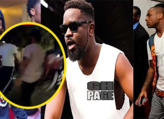 Video: Sarkodie Attacked in a fight between Davido and Wizkid's crew in Dubai