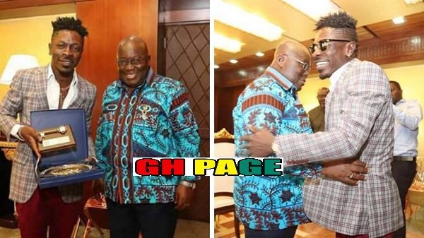 Wow!! See all the PHOTOS From Shatta Wale And Nana Addo's Meeting At Flagstaff House