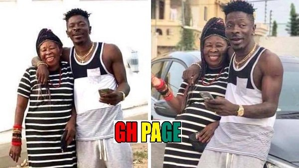 Meet Madam Elsie Evelyn Avemegah, Shatta Wale's mother [PHOTOS]