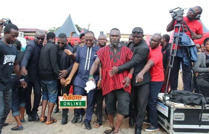 Photos: Countryman Songo 'clash' to unite with Kwesi Nyantakyi at KABA's One-week Observation