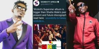 Soundcity Africa descends on Shatta Wale for calling out Wizkid
