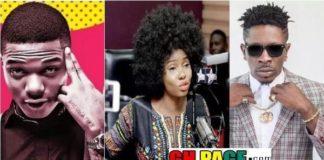 Yemi Alade Reacts To Shatta Wizkid Beef