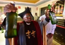 The church where you are baptized with your favourite beer