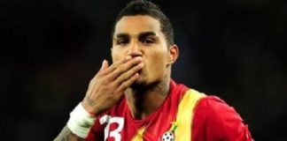 Kevin-Prince Boateng has revealed how he got his interesting first name