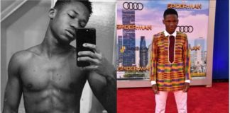 Massive Traffic Caused As Abraham Attah Breaks The Internet With His 6 Packs Photo