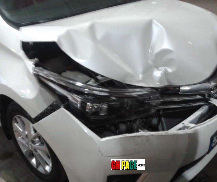 Rapper Sherry Boss survives car accident (Photos)