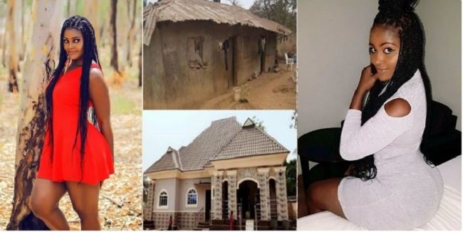 Actress Demolishes Her Parents Mud House And Builds A Mansion For Them