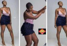 'Olympus has fallen'- Social media troll Ahuofe Patri for having a 'falling' boobs [Photos]
