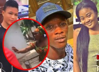 Update: Akosua Sika's mum storms Asaawa Gh's house - Threatens to deal with him [Video]