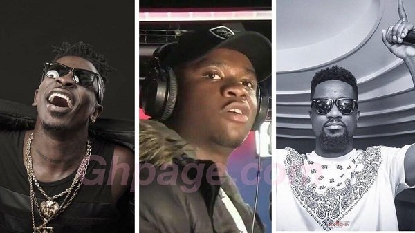 Big Shaq names Sarkodie, Shatta Wale & two other Ghanaian artists he admires so much