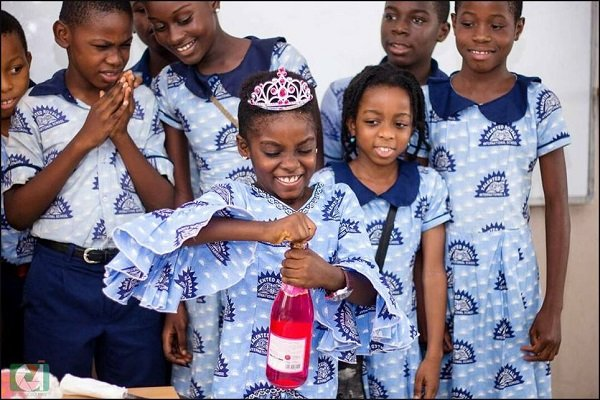 See How DJ Switch's Classmates Threw A B'day Party For Her