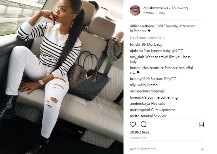Emmanuel Adebayor And Dillish Mathews Secret Relationship Exposed
