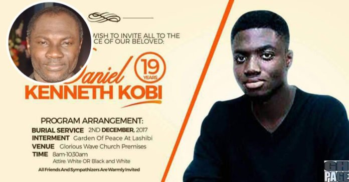 Gone Too Soon: Prophet Emmanuel Badu Kobi Loses 19-Year-Old Son (Photo)