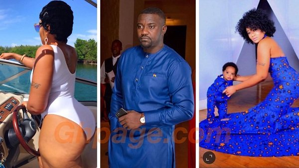 US-Based Liberian Boss Chic claims John Dumelo is the father of her son - Says Dumelo is irresponsble [Photos]