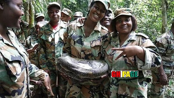 Incredible!: Ghanaian Female soldiers release wild PHOTOS as they complete training