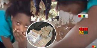 Girl Vomits Sakawa Money Photos Video