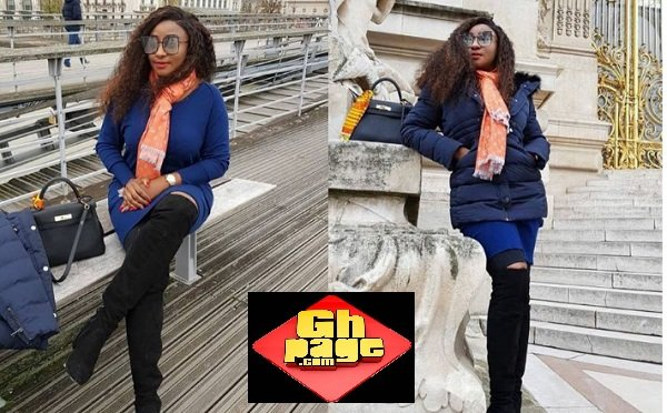 Photos: See Pretty Ini Edo In France Perfectly Slaying In New Photos