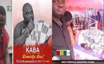 Tears Can't Stop Flowing As Multimedia Staff, Family&Friends Walk Past KABA's Dead Body [Video]