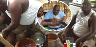 These Throwback Photos Of KABA Pounding Fufu Will Make You shed tears and Miss Him More