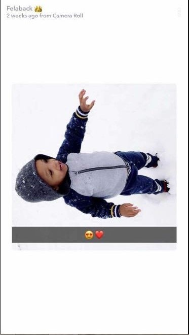 Wizkid Finally Admits And Shares First Photo Of His Second Son
