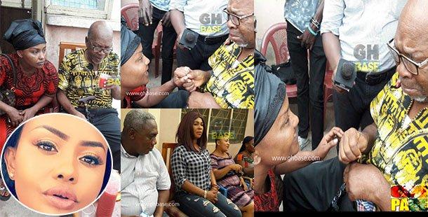 Photos & Video: Kumawood Stars Make Donation To Ailing Veteran Actor King Aboagye Brenya