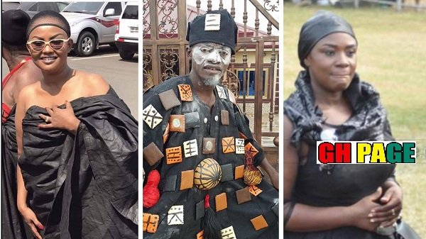 Lilwin, Mcbrown, Brobbey, Papa Kumasi & other Kumawood Stars mourn Asantehemaa [Photos]