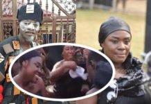 Emelia Brobbey and Kwadwo Nkansah Lil Win dance in 'Adowa' at the late Asantehemaa's funeral grounds (Video)