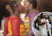 Ghanaian Lesbians Get Married Wearing Kente Cloth In Holland