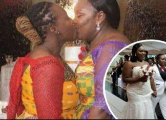 Ghanaian Lesbians Get Married Wearing Kente Cloth In Holland
