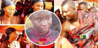 Maame Serwaa, Bill Asamoah, others at Nana Ama McBrown's 'mother' Madam Betty Obiri Yeboah's Funeral (Video)