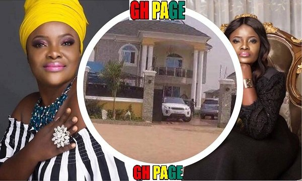 See Photos Of Gospel Singer Ohemaa Mercy's Plush Mansion And Luxurious Cars