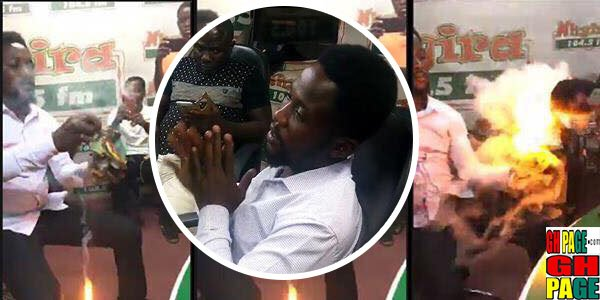 Video:'Pastor' Almost Burn Nhyira FM With Magical Powers, Reveals some shocking Secrets Of Ghanaian Prophets