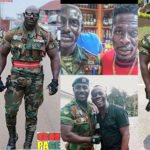 Meet Raymond Kwaku, the 'well built' military man who slays in his uniform and behind the meme that went viral(PHOTOS)